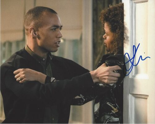 ACTOR KENDRICK SAMPSON SIGNED THE FLASH 8x10 PHOTO B w/COA SUPERNATURAL INSECURE