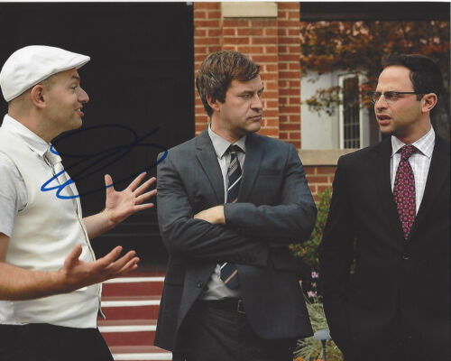COMEDIAN PAUL SCHEER SIGNED AUTHENTIC 'THE LEAGUE' 8X10 PHOTO E w/COA VEEP TV