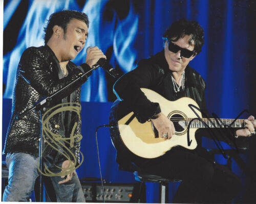 NEAL SCHON & ARNEL PINEDA of JOURNEY DUAL SIGNED AUTHENTIC 8X10 PHOTO w/COA