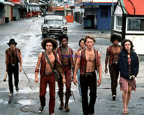 THE WARRIORS 1979 CULT HIT STREET GANGS IN CONEY ISLAND RARE PHOTO