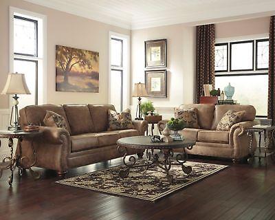 Ashley Furniture Larkinhurst Sofa and Loveseat