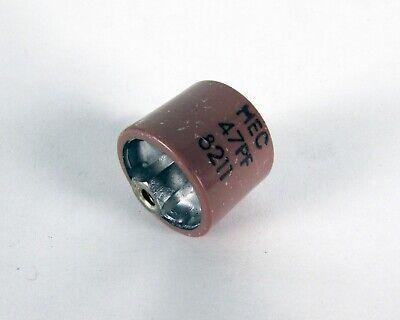 Metuchen Dc Ceramic Doorknob-type Capacitor Rf - 47 Pf