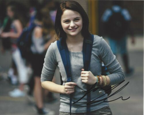 ACTRESS JOEY KING SIGNED 8X10 PHOTO D W/COA KISSING BOOTH THE CONJURING
