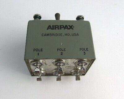Airpax M39019-5-60 Aircraft Circuit Breaker