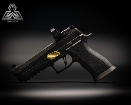 GOLD SIG P320 GAS PEDAL® TAKE DOWN LEVER X5 P 320 M17 M18 TACTICAL SAUER