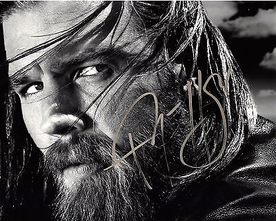 Ryan Hurst Signed Authentic Sons Of Anarchy Opie 8X10 Photo 3 W Coa Actor