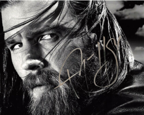 RYAN HURST SIGNED AUTHENTIC SONS OF ANARCHY 'OPIE' 8X10 PHOTO 3 w/COA ACTOR