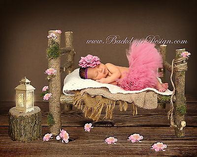 Опоры и сценическое Newborn log bed