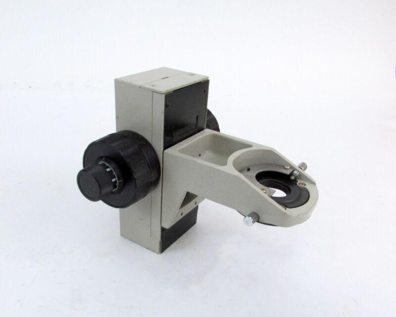 Nikon Diaphot (?) Objective Holder w/ Fine and Coarse Adjustment Knobs
