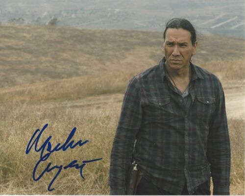 MICHAEL GREYEYES SIGNED 8x10 PHOTO C w/COA FEAR THE WALKING DEAD TRUE DETECTIVE