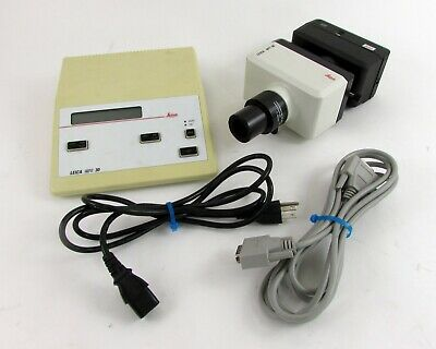 Leica Mps 30 Microscope Camera Control Box With Cables - 35mm