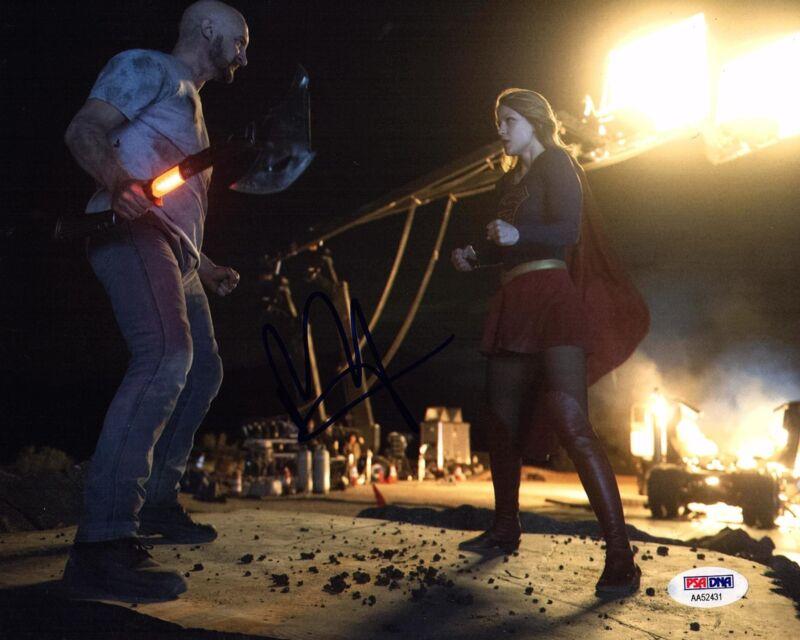 MELISSA BENOIST SIGNED SUPERGIRL 8X10 PHOTO! SUPERMAN! KARA DANVERS BAS COA 3