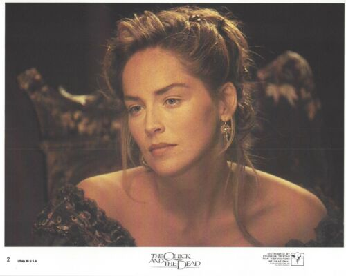 The Quick And The Dead Original 8x10 Lobby Card Poster Photo 1995 #2 Stone
