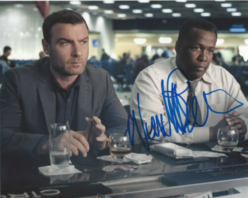 WENDELL PIERCE SIGNED AUTHENTIC 'THE WIRE' BUNK 8X10 PHOTO C w/COA ACTOR TREME