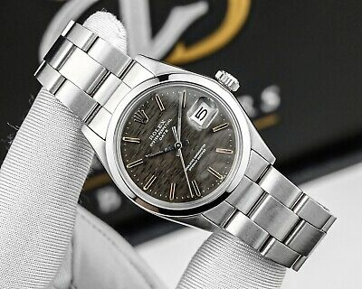 Rolex Oyster Perpetual Date 34mm Ref. 1500 Steel Vintage 1972 Rare Dial Watch