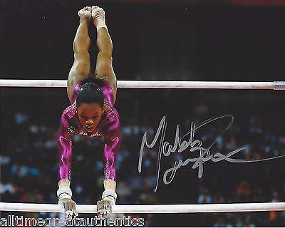 Gabby Douglas Signed 8X10 Photo W Coa 2012 London Olympics Gold Fierce 5 Rio