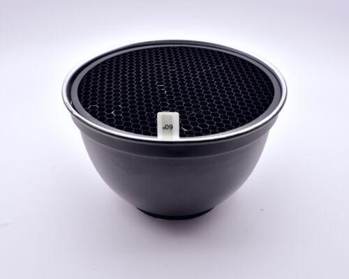 "Haoge 7"" Standard Reflector with 60° Honeycomb Grid Paul Buff Balcar (#8597)"