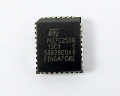 Lot Of 64 Ic Integrated Circuit M27c256b-15c1 Eprom St Microelectronics