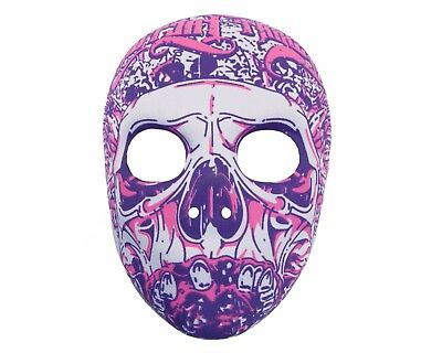Halloween - Day of the Dead Candy Skull Mask - Dress Up Trick or Treat Costume