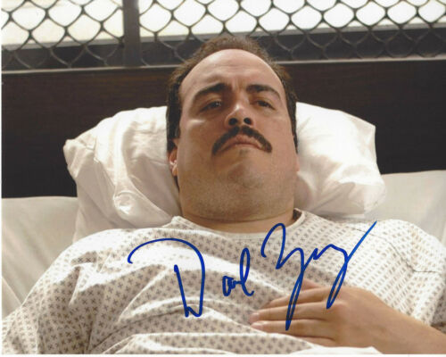 DAVID ZAYAS SIGNED AUTHENTIC 'DEXTER' 8X10 PHOTO B w/COA ACTOR GOTHAM OZ