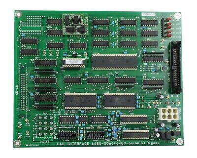 Rigaku Pcb Boad Pn Cau Interface 6480-0066 6480-6604cs