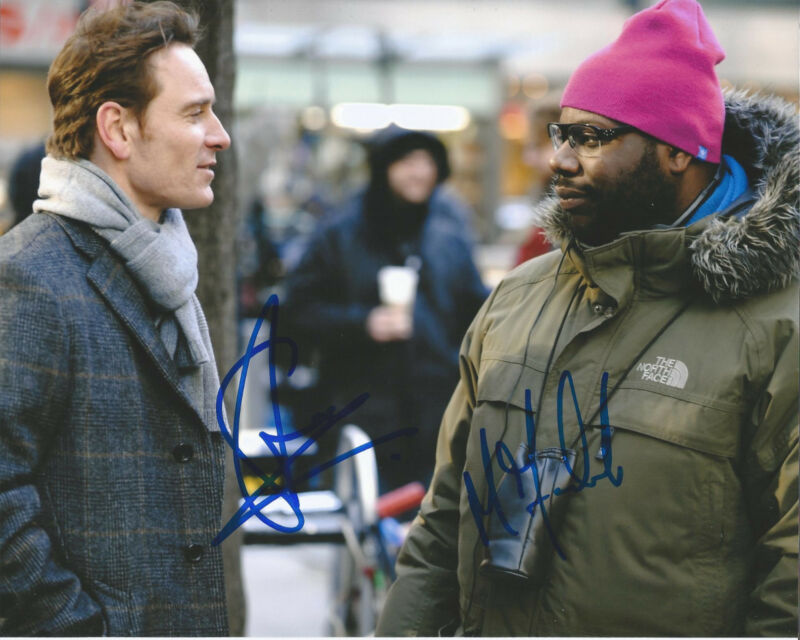 MICHAEL FASSBENDER STEVE MCQUEEN SIGNED 12 YEARS A SLAVE 8X10 PHOTO W/COA