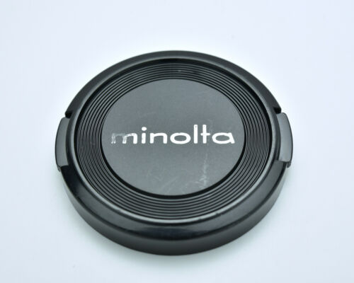 Genuine Minolta MD & MC 55mm Front Lens Cap Snap-On  (#3223)