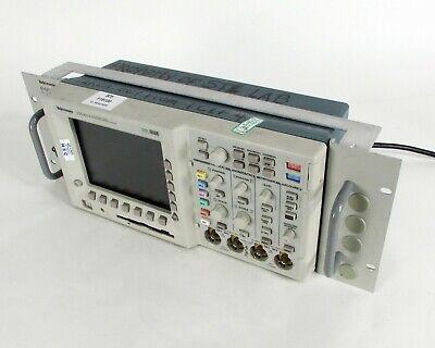 Tektronix Tds3014 Four Channel Digital Phosphor Oscilloscope W Rm3000 Rack