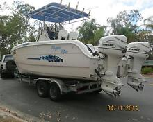 2001Sea Chaser CAT230 Power Catamaran - Dual 115 HP Evenrude + Forestdale Logan Area Preview