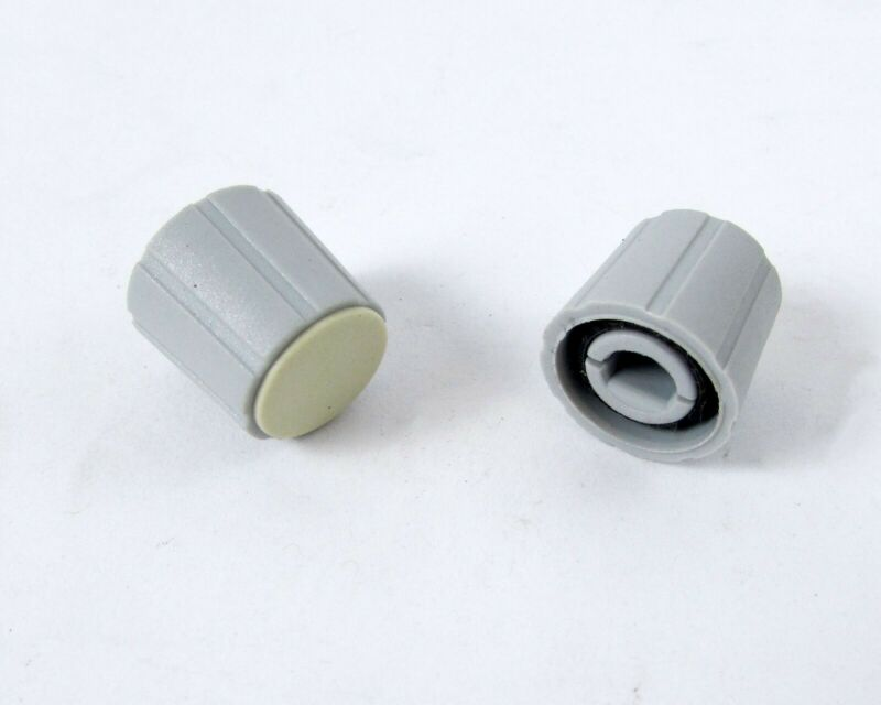 Lot of (460) Grey Plastic Control Knobs For Test Equipment