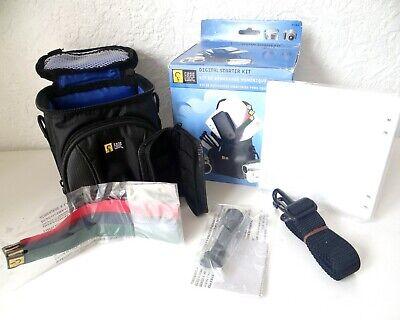 Case Logic DVB4 Compact Digital Camera Camcorder Bag Starter Kit Tripod Cloth Digital Camcorder Case