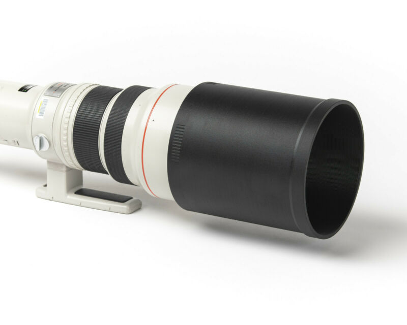 Lens Hood with Skid Pad - SHORT, for Sony FE 600mm f/4 GM OSS - replaces SH158