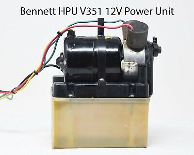 Bennett Hydraulic Power Unit 12V #V351HPU1