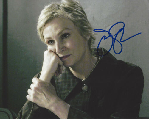 JANE LYNCH SIGNED AUTHENTIC CRIMINAL MINDS 8X10 PHOTO COA ACTRESS WRECK IT RALPH