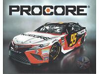2019 MATT DiBENEDETTO #95 PROCORE B//B NASCAR POSTCARD