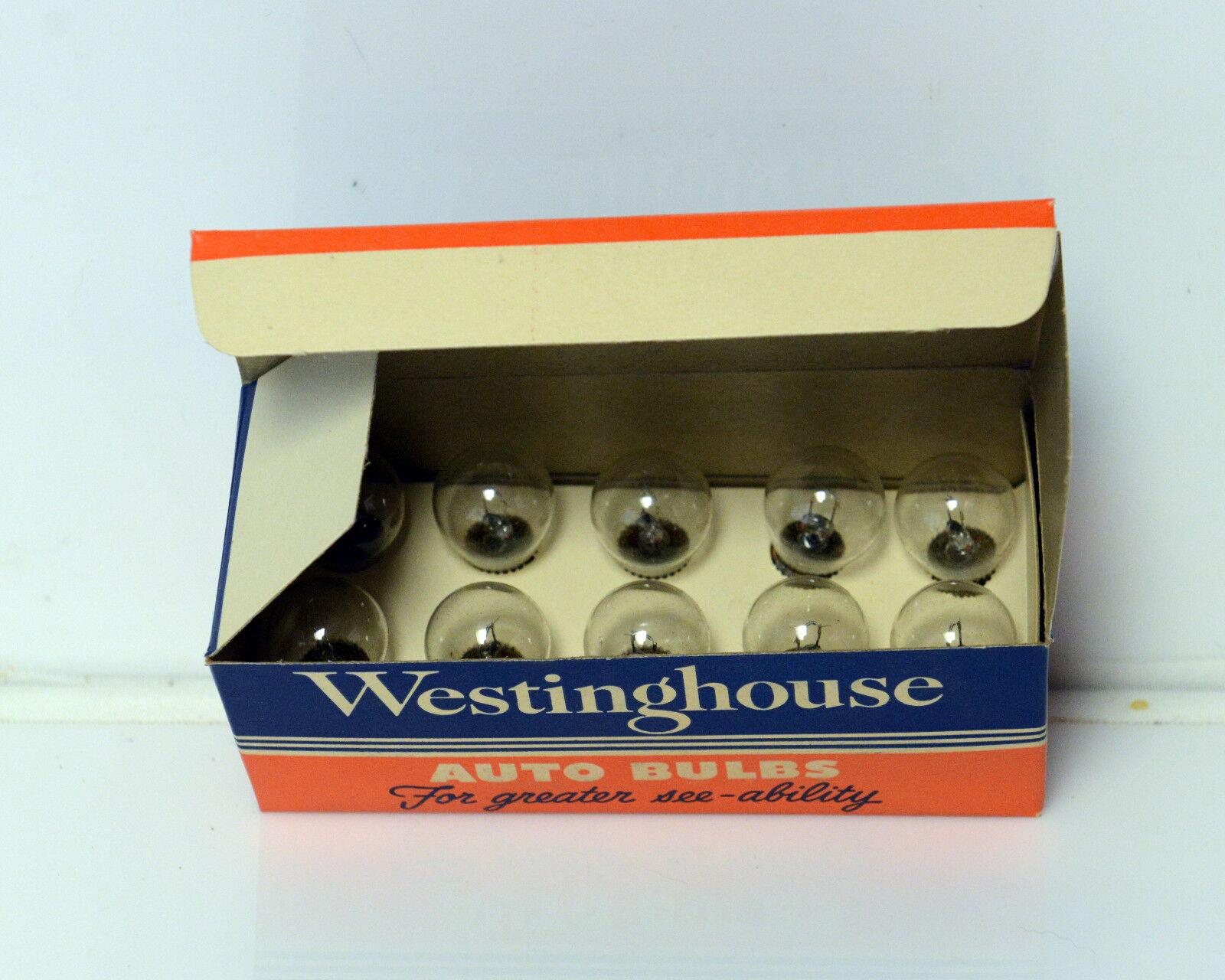 Westinghouse Light Bulbs NOS Vintage Advertising lamp 1129 Headlight Signal