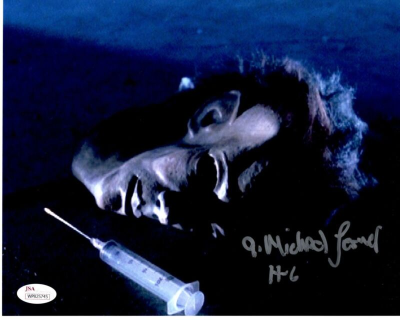 A. MICHAEL LERNER signed 8x10 Photo HALLOWEEN 6 Curse of Michael Myers JSA