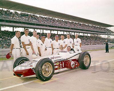 RODGER WARD 1962 INDY 500 WINNER AUTO RACING 8X10 PHOTO
