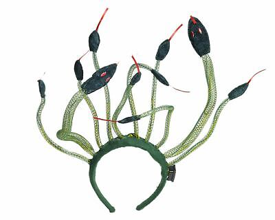 Medusa Headpiece Headband light up Costume Accessory - Medusa Costume Headpiece