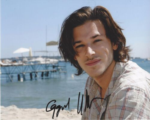 ACTOR GASPARD ULLIEL SIGNED 8X10 PHOTO A W/COA IT'S ONLY THE END OF THE WORLD