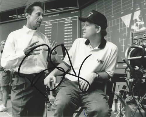 HOLLYWOOD PRODUCER BRIAN GRAZER HAND SIGNED 8x10 PHOTO A w/COA RON HOWARD FRIEND