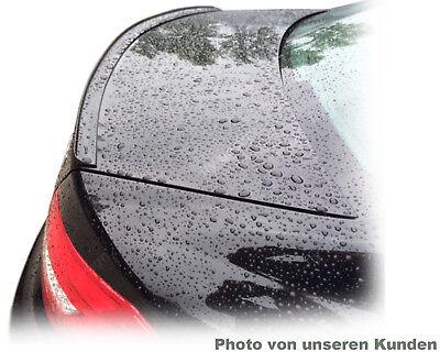 Mercedes 217 S Klasse Coupé Cabrio LACKIERTE SCHWARZ spoiler abrisskante becquet