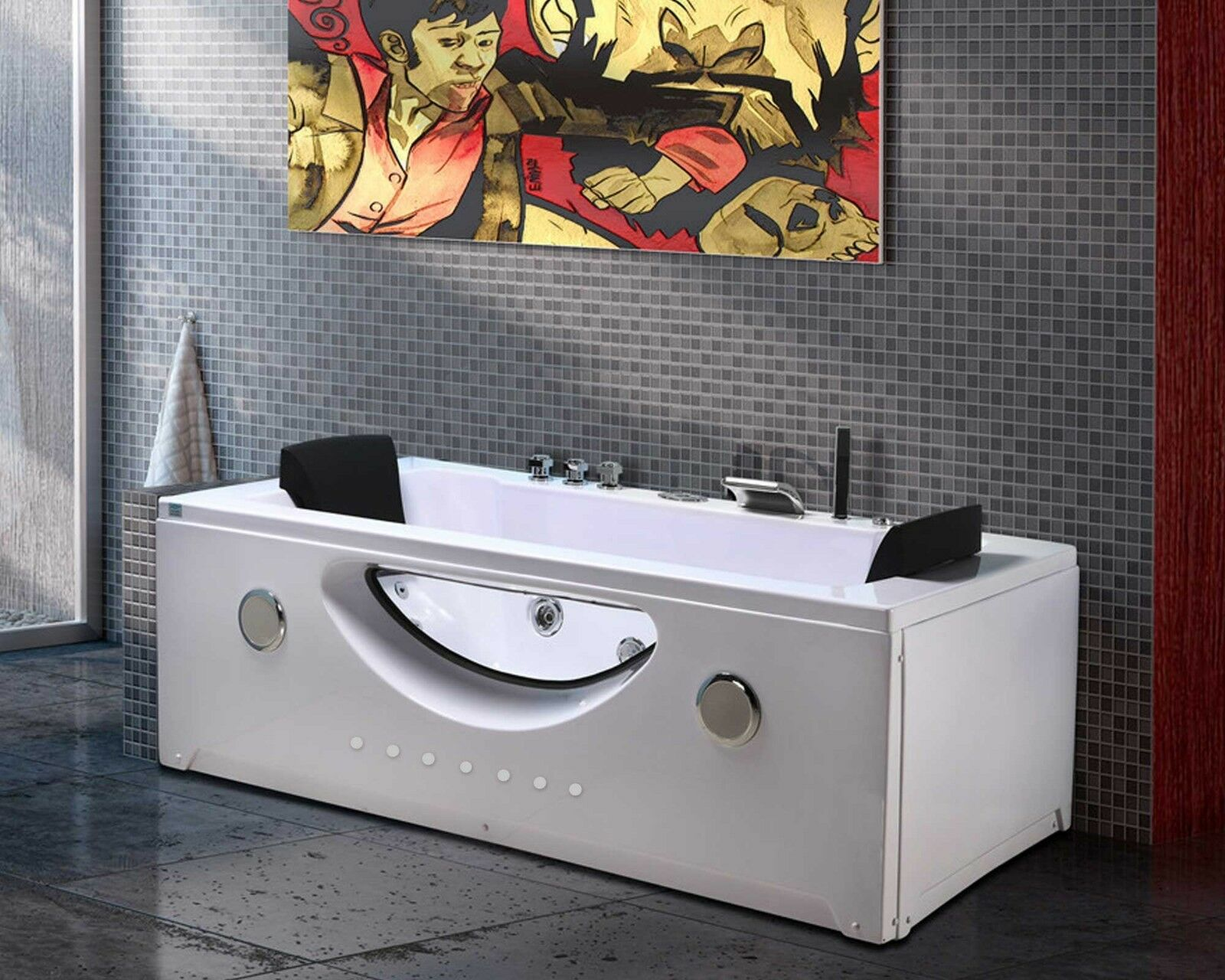 whirlpool massage hydrotherapy bathtub hot tub 2