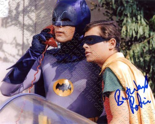 REPRINT 8x10 SIGNED AUTOGRAPHED PHOTO PICTURE BURT WARD BATMAN & ROBIN BATMOBILE