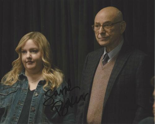 SARAH BAKER SIGNED AUTHENTIC 'THE KOMINSKY METHOD' 8x10 PHOTO w/COA ACTRESS