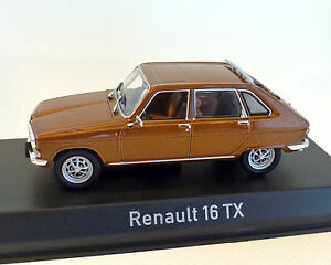 renault 16 tx brun 1976 norev 1 43 ebay. Black Bedroom Furniture Sets. Home Design Ideas