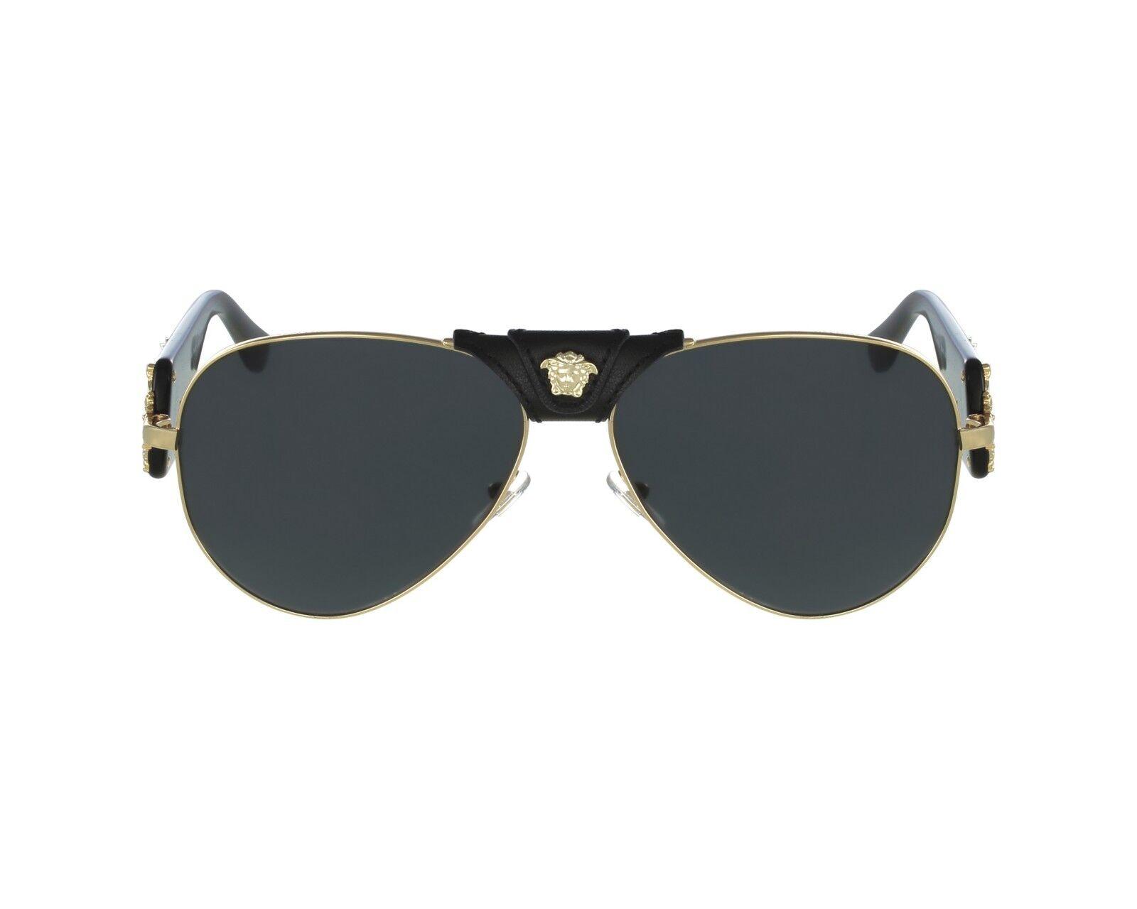 022b0d2d32d49 ... Dark Gray 62 mm 100287 NIB NWT Versace Sunglasses VE 2150Q 1002 87  Black Gold   Dark Gray 62 mm 100287 NIB NWT Versace Sunglasses VE 2150Q  1002 87 Black ...