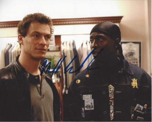 ACTOR MICHAEL K WILLIAMS SIGNED 8X10 PHOTO A W/COA THE WIRE TV SERIES