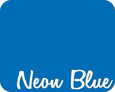 15 X 5 Yards - Stahls Fashion-lite Heat Transfer Vinyl Htv - Neon Blue