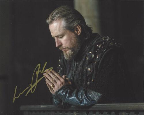LINUS ROACHE SIGNED AUTHENTIC 'VIKINGS' 8X10 PHOTO w/COA ACTOR PRIEST PROOF